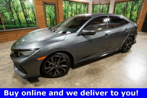Certified Pre-Owned 2017 Honda Civic Sport Touring CERTIFIED with Sunroof, Navigation, Leather