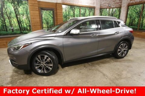 Certified Pre-Owned 2017 INFINITI QX30 Premium AWD, Moonroof Pkg, Navigation Pkg, CERTIFIED