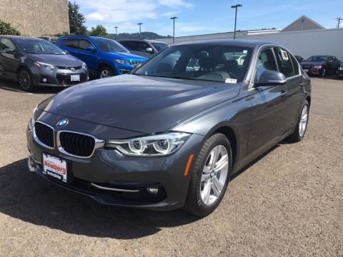 Pre-Owned 2017 BMW 3 Series 330i xDrive AWD, 1-Owner, Premium Pkg, Navigation