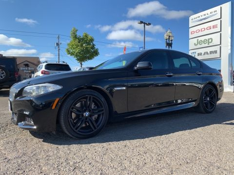 Pre-Owned 2013 BMW 5 Series 550i M Sport, Executive Package, Heads Up Display